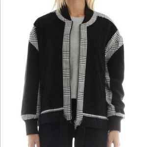 • current air • anthro houndstooth jacket M